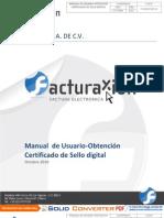 Manual Certificado SelloDigital