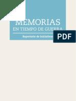 Memoria Tiempos Guerra Baja
