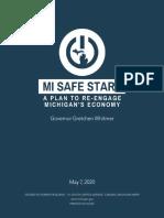 Governor Whitmer's MI Safe Start Plan