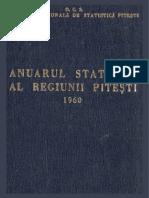 Anuarul Statistic al Regiunii Arges (1960)