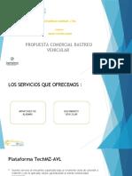 PRESENTACION DE RASTREO VEHICULAR CARIMAR VEHICULOS