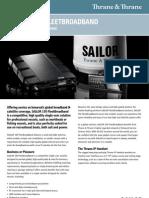 SAILOR 150 Fleet Broadband Product Sheetpdf