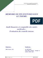 Audit financier et comptable des unités MEDICALE APPR2CIATIO