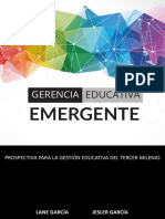 Gerencia educativa emergente