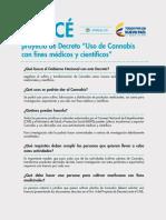 "ABC-canabis Proyecto de Decreto ""Uso de Cannabis"
