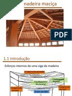 9 . Dimensionamento de peças estruturais de madeira - vigas