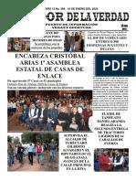 28 DE DICIEMBRE DEL 2019 PERIÓDICO IMPRESO CAZADOR DE LA VERDAD