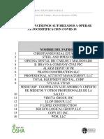 Registro de Patronos Autorizados Autocertificacion