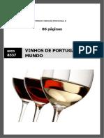 Manual TRB ufcd 8337 - Vinhos de Portugal e do mundo
