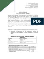 CASO LABORAL consultorio IV TURNO 2