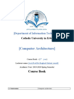 Course book computer Architecture.docx