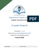 Course book compiler design