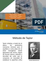 metodo taylor