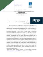 sanchez roman Integración territorial y especialización económica Tucuman