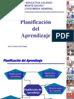 Planificación del Aprendizaje