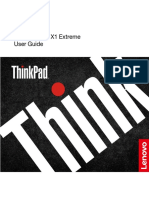 User Manual Lenovo ThinkPad