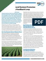 Broken Agricultural System Promotes Climate Change Feedback Loop