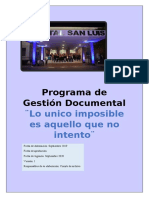 Propuesta de implementacion de un PGD