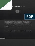 ESTRUCTURAS REGLAS OPERADORES(1)
