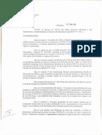 Resolución Lamarque y Beltrán cordon sanitario