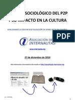 ESTUDIO SOCIOLÓGICO DEL P2P Y SU IMPACTO EN LA CULTURA