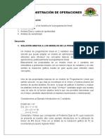 Adm.operaciones Clase