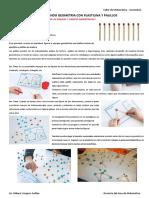 Aprendiendo Geometria Con Plastilina y Palillos