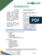 Guía de Estudio Primer Parcial - Informática I