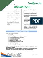Guía de Estudio Primer Parcial - Informática II