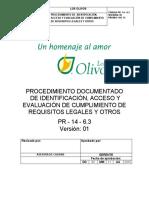 6.3 - PROCEDIMIENTO MATRIZ LEGAL SST
