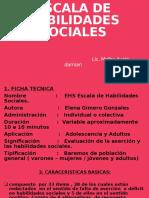ESCALA DE HABILIDADES SOCIALES 1
