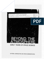 Beyond the Atmosphere Early Years of Space Science
