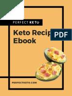 2019 Perfect Keto Recipe Ebook (interactive)