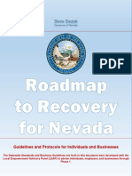 Roadmap to Recovery- Phase One Initial Guidance