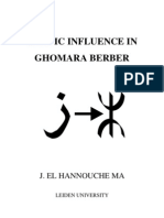 Arabic Influence in Ghomara Berber by J El Hannouche