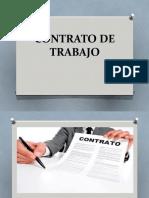 contrato de trabajo  2020 SENCICO
