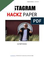 Instagram - HackZ - Paper