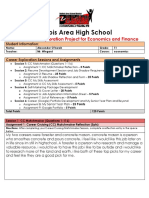 Copy of Junior Career Exploration Project for Economics and Finance Alex Oharah