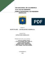 AFORADOR PARSHALL - SOFTWARE