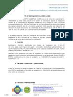 ACTA DE CONCILIACION.
