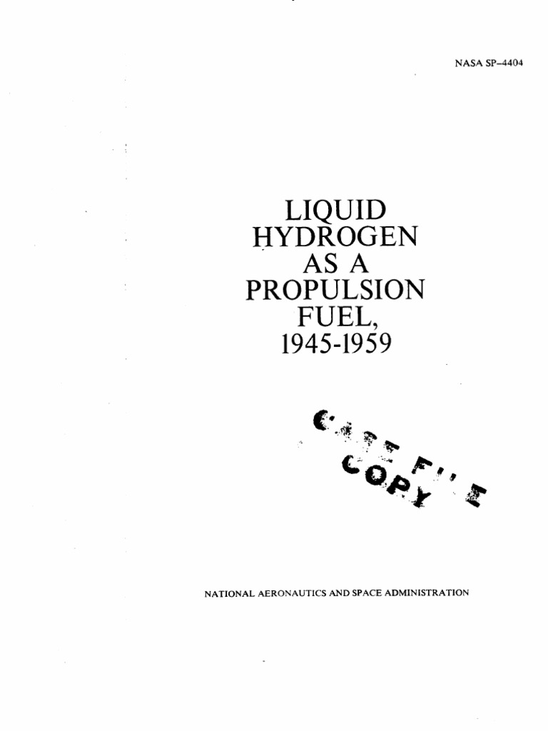 Liquid Hydrogen As A Propulsion Fuel 1945 1959 Saturn Rocket New Rudder Mixer And Speed Controller Driver Revisedand Now Family Propellant