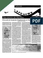 Suplemento Cultural el Tlacuache, No. 5, 29 de julio, 2001