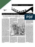 Suplemento Cultural El TLACUACHE, DOMINGO 15 DE JULIO DE 2001