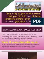 Lost Lives Matter to God 2017