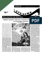 Suplemento el Tlacuache, DOMINGO 12 DE AGOSTO DE 2001