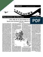 Suplemento el Tlacuache, DOMINGO 26 DE AGOSTO DE 2001