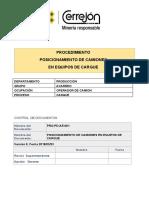 POSICIONAMIENTO DE CAMIONES
