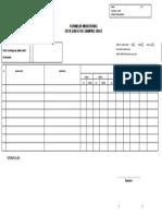 Formulir Monitoring Efek Dan Efek Samping Obat