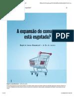 BENEMOND, Rogério Lessa A expansão do consumo está esgotada.pdf