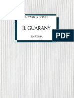Abertura O Guarani - Partitura